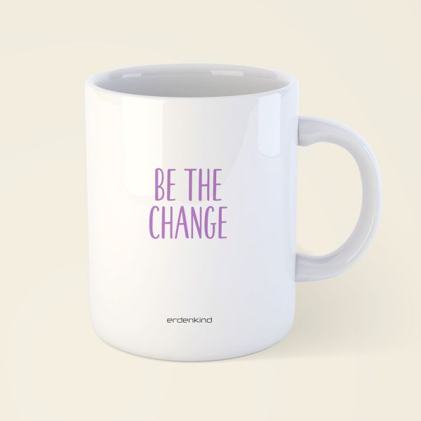 tasse be the change yoga erdenkind 4