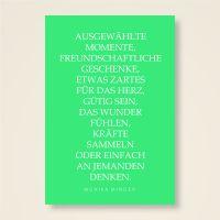 Grusskarten  Set 'Ausgewählte Momente'