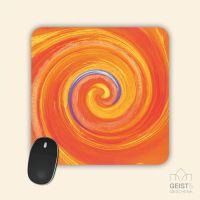 Mousepad Energiebilder 'Lebendiges Sein' - 19x19cm