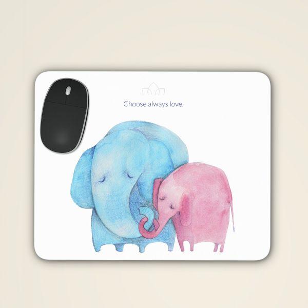 Mousepad 'Choose always love'