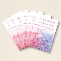 Postkarten-6er-Set-Buddha-Zitat-Hier-und-Heute-bedruckt-1
