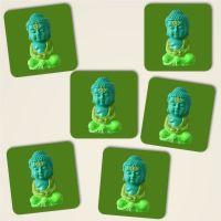 Untersetzer Set 'Buddha Meditate'