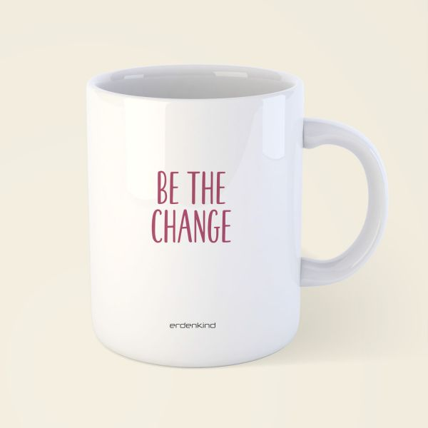 tasse be the change yoga erdenkind 2