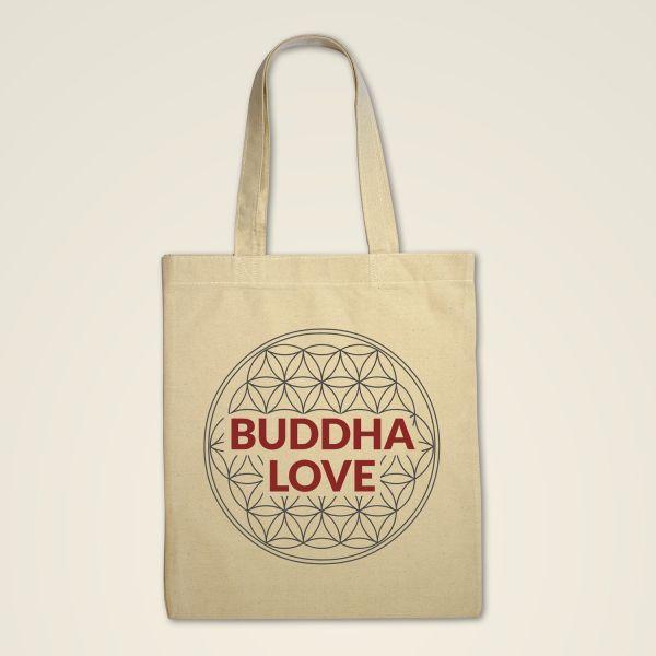 Stofftasche 'Buddha LOVE'
