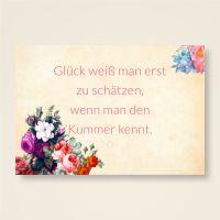 Grusskarten  Set ' Glück & Kummer '