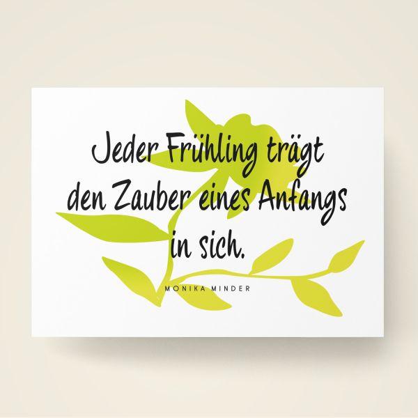 Grusskarten Set 'Frühling'
