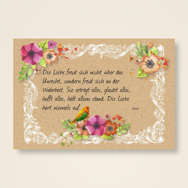 Grusskarten Set Mit Jesus Zitaten Liebe