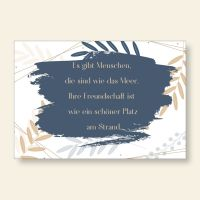 Grußkartenset bedruckt Freundschaft Geist und Geschenk