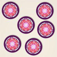 Mandala Untersetzer Love 5