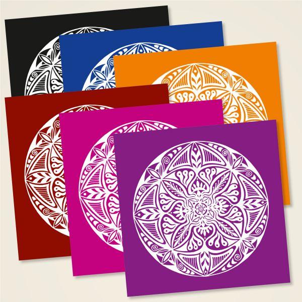 Karten-Set Mandala Motiv 'Shamanic'