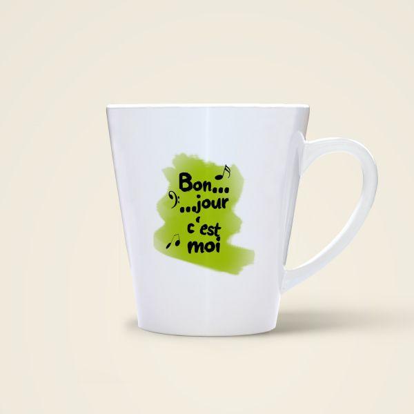 Tasse 'Bonjour c'est moi'