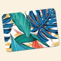 Bedrucktes 6-teiliges Tischset Palmenblätter I   Geist und Geschenk