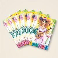 Grusskarten  Set 'Göttin Saraswati'