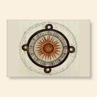 Grußkartenset bedruckt Sonnenuhr I Geist und Geschenk