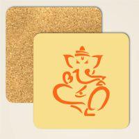 Untersetzer aus Kork Ganesha Geist und Geschenk