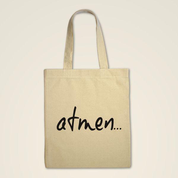 Stofftasche 'Atmen..'