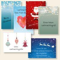 Grußkarten Weihnachtskarten Weihnachten mix it  christmas-mix Geist und Geschenk