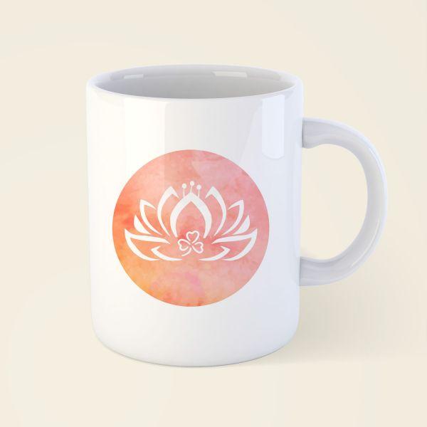Tasse 'Dreiblatt-Lotus'