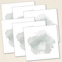 Grusskarten Postkarten origami moij design elefant quadratisch