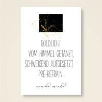 Karten-Set 'Goldlicht'