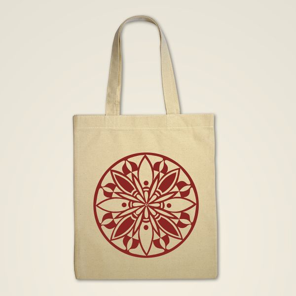 Stofftasche Natur 'Blooming'