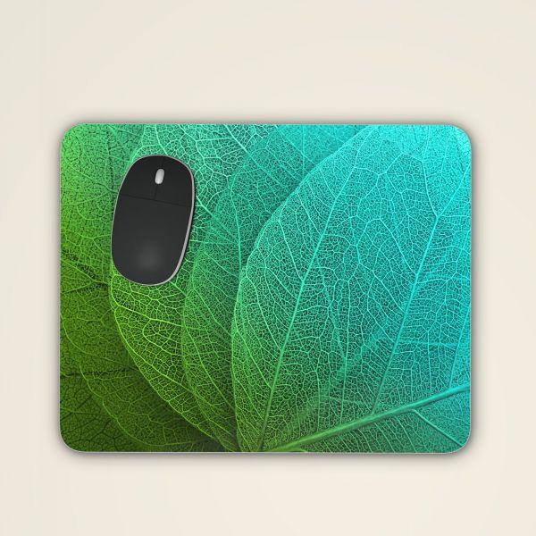 Mousepad mit zauberhaftem Blättermotiv