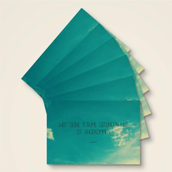 Grusskarten Set 'Träume'
