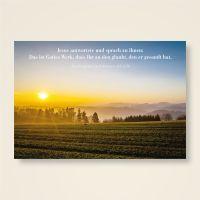"""Grusskarten  Set mit christlichem Zitat """"Gottes Werk"""""""