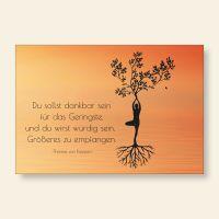 Grußkarten Set Yoga Dankbarkeit Thomas von Kempen Geist und Geschenk