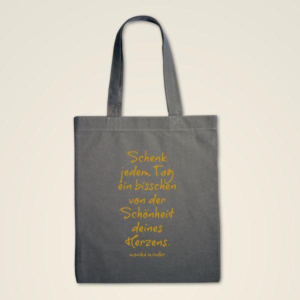 Stofftasche 'Schönheit deines Herzens'