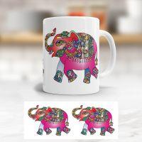 Tasse Elefant Geist und Geschenk klassische Form