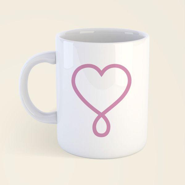 Erdenkind infinite love Tasse bedruckt 1