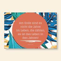 Grußkarten-Set Zitat Abraham Lincoln Geist und Geschenk