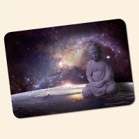 Bedrucktes 6-teiliges Tischset Buddha Galaxy  Geist und Geschenk