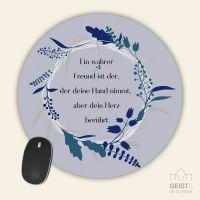 Mousepad bedruckt Ein Freund Geist und Geschenk