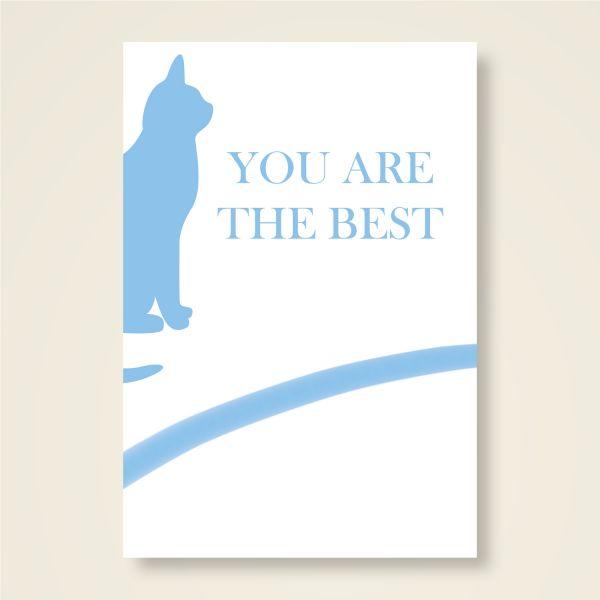 Grusskarten Set 'You are the best'