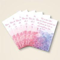 """Grusskarten  Set Buddha Zitat """"Ströme der Liebe"""""""