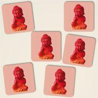 Untersetzer Set 'Buddha Sleep'