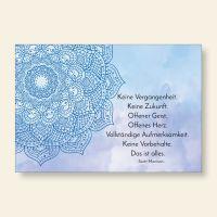 Grußkarten Set Mandala Vergangenheit Zukunft Scott Morrison Geist und Geschenk