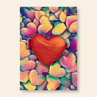 Grußkartenset LOVE Geist und Geschenk