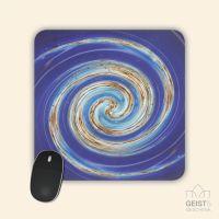 Mousepad Energiebilder 'Heiliges Fließen' - 19x19cm
