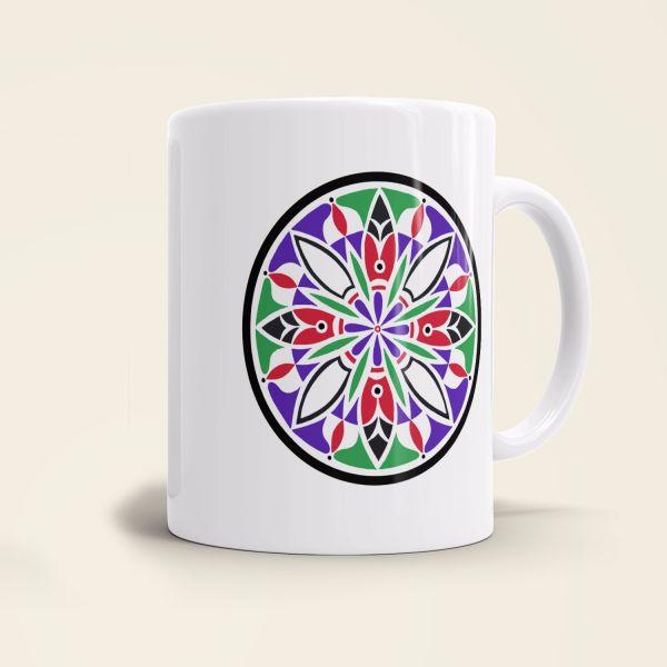 Tasse Mandala `Blooming'