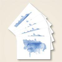 Grusskarten Postkarten origami moij design eisbaer