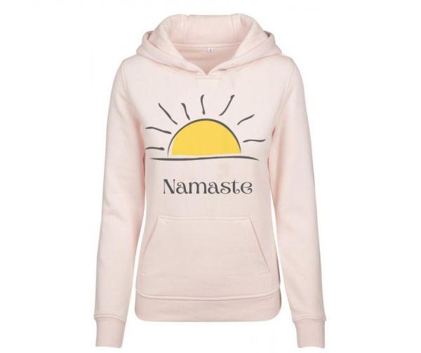 Hoodie Damen bedruckt Namaste Sunset Geist und Geschenk