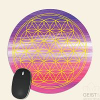Mousepad-Blume-des-Lebens-Motiv-Ajna-bedruckt-1