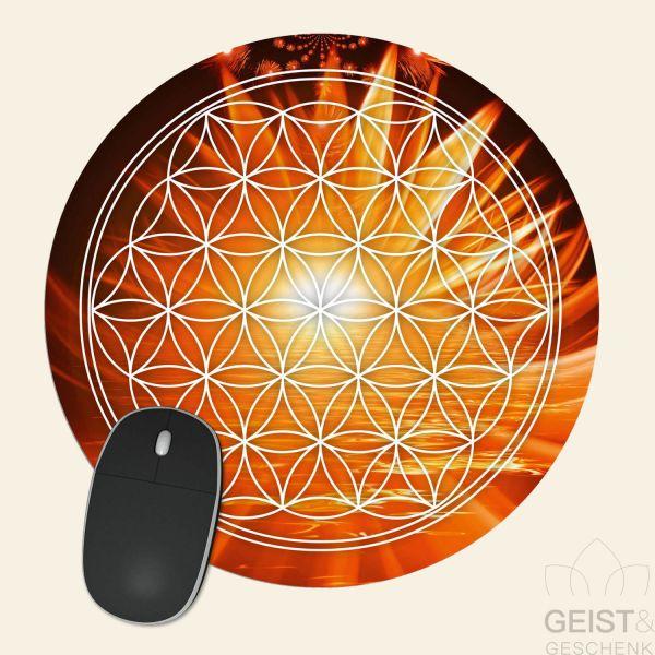 Mousepad-Blume-des-Lebens-Motiv-Tag-bedruckt-1