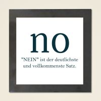 Wandbild 'NO'