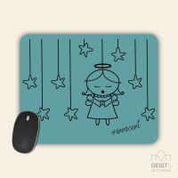 Mousepad bedruckt Angel Innocent Blue Geist und Geschenk
