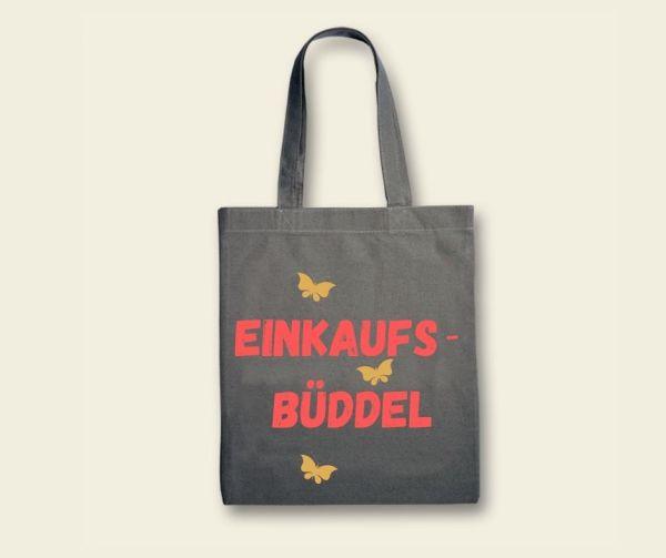Stofftasche Canvas Klassik Einkaufs- Büddel  Schmetterling Geist und Geschenk