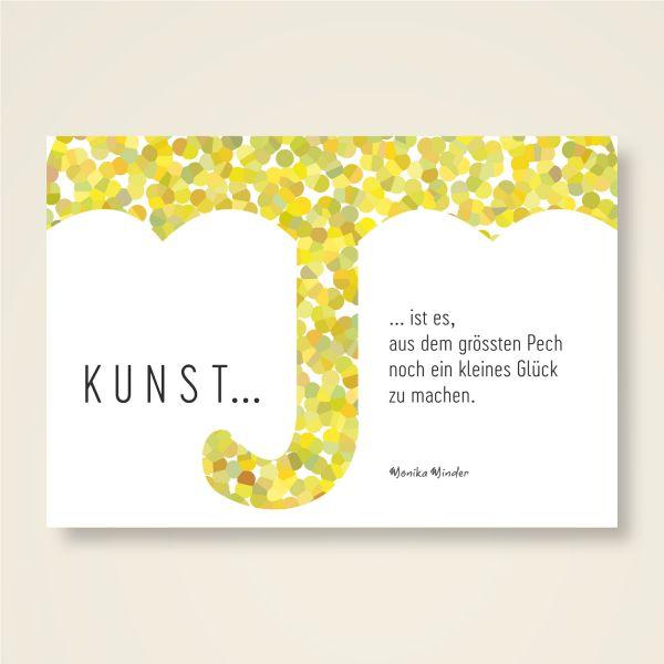 Grusskarten Set 'Die Kunst des Glücks'